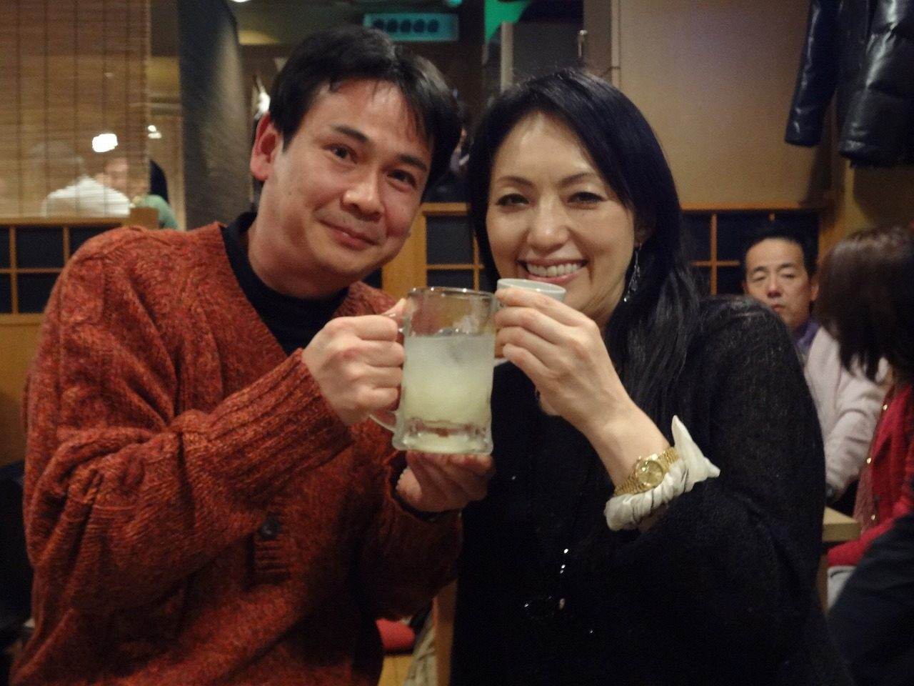宝田恭子先生との2ショット
